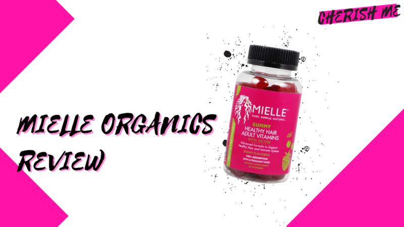 mielle organics hair vitamins review