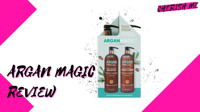 Argan Magic Shampoo and Conditioner Review