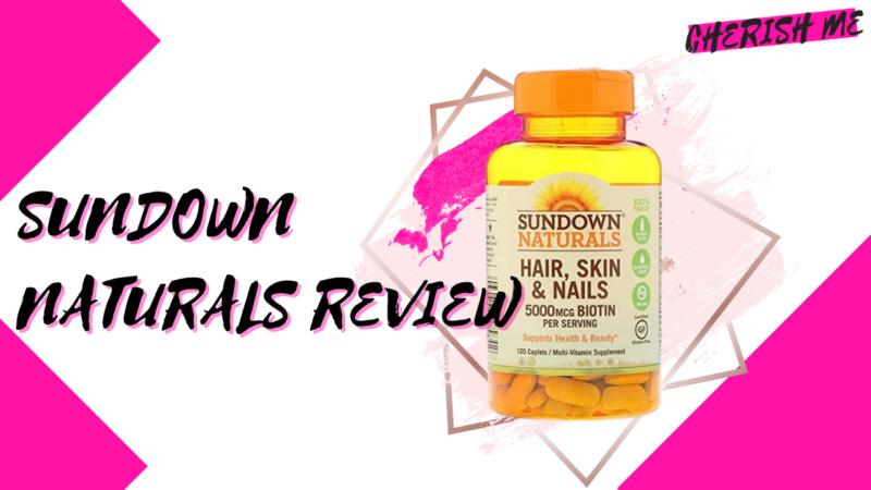 sundown naturals hair skin and nails review